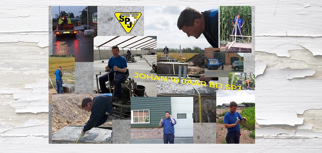 10 Jarig Dienstverband Johan Segers